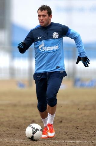 Тренировка перед матчем Терек - Зенит 31 марта: Фото