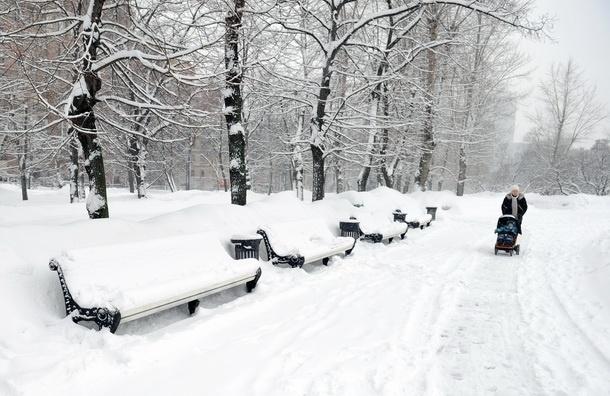 Снегопад начнется в 21:00. МЧС объявило в Подмосковье штормовое предупреждение