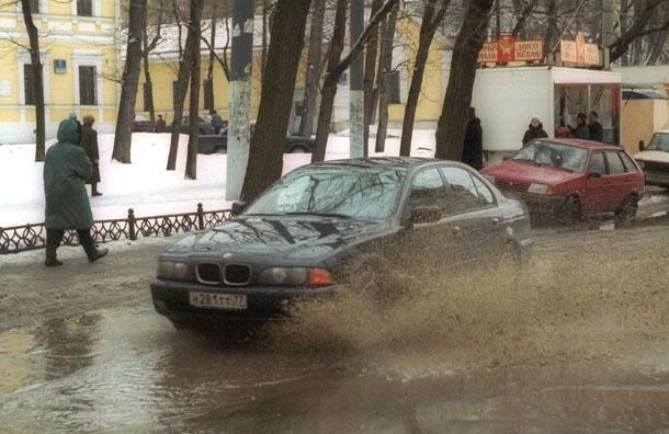 Долгожданная оттепель ожидается в столице в пятницу
