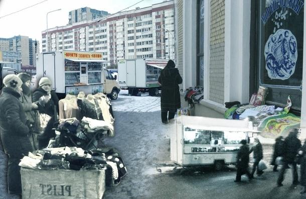Бабушки с укропом и вязаными носками на улицах Петербурга: карта стихийной торговли