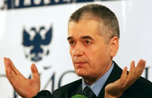 Онищенко запретил москвичам есть снег