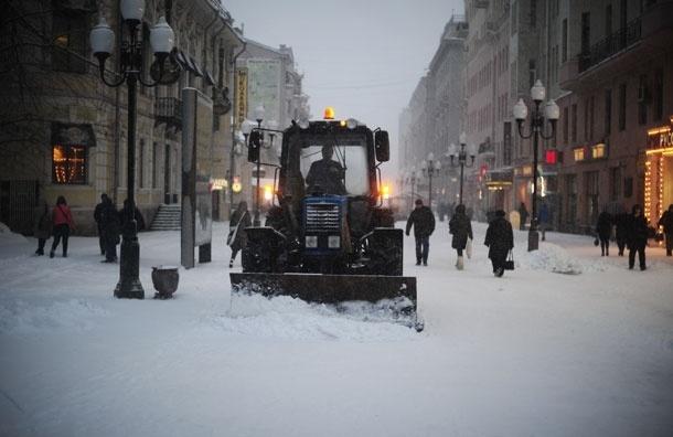 Снег и ветер. Москву ждет потепление только к субботе