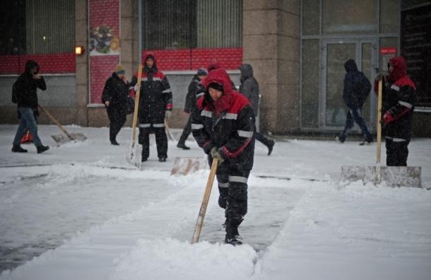 Заснеженная Москва увязла в многокилометровых пробках