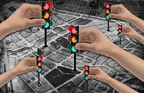 Новые светофоры в Петербурге: узнай, станет ли дорога рядом с твоим домом более безопасной