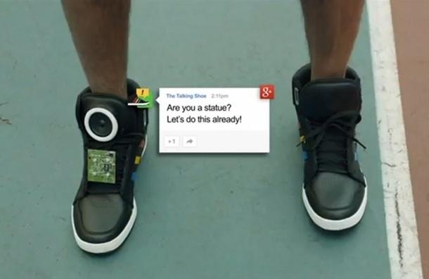 Умная обувь. Google презентовала говорящие кроссовки