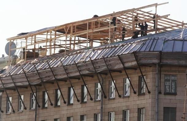 В Петербурге избит градозащитник, выступавший против строительства мансарды