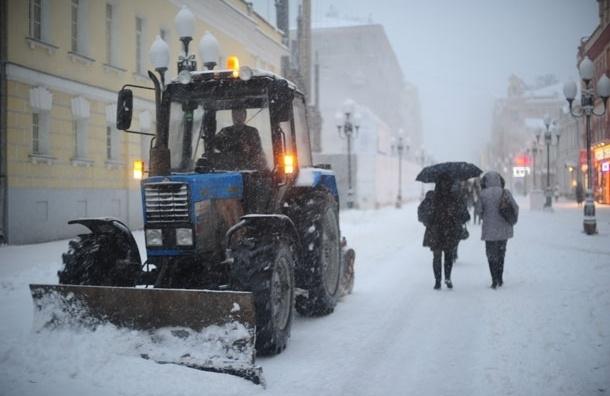 В Москве и области ожидается метель и до -12 градусов