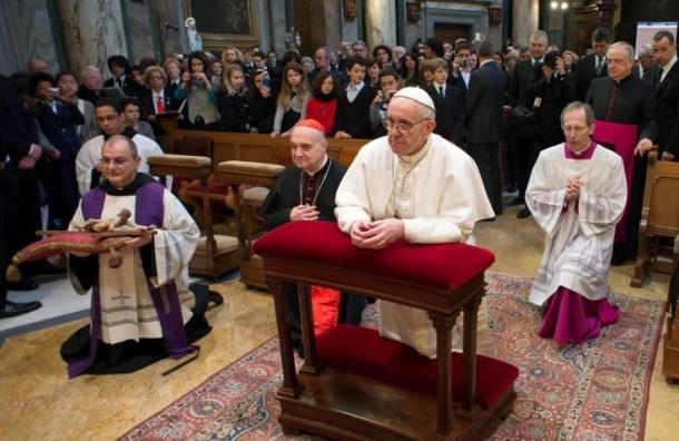 Прямая трансляция интронизации Папы Римского Франциска
