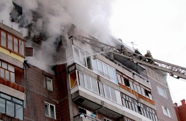 Взрыв газа в московской квартире - неудавшийся суицид