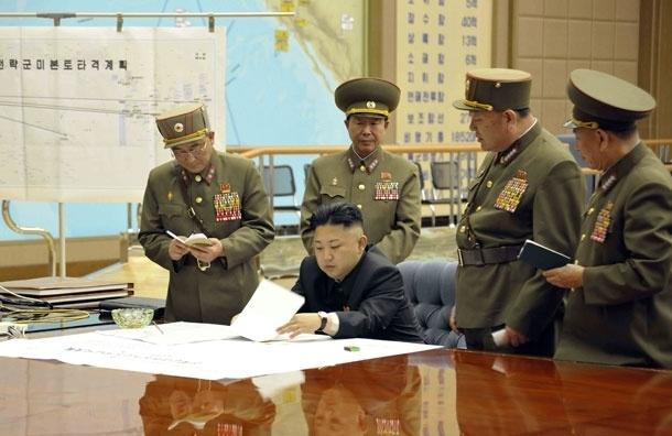 Северная Корея угрожает США ядерной атакой