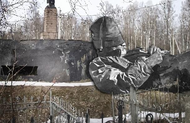 В Петербурге памятники войны оказались никому не нужны