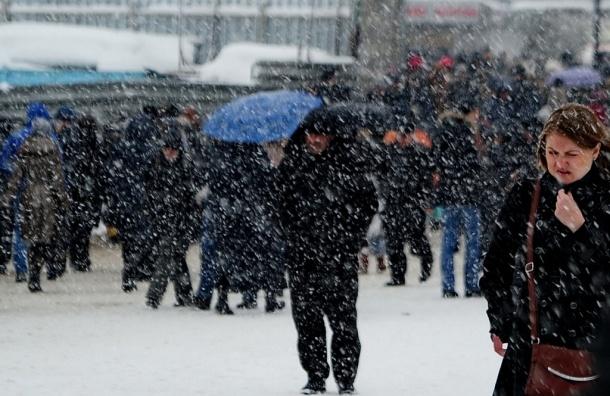 Аномальная весна в Москве: сильный  мороз и обильный снегопад