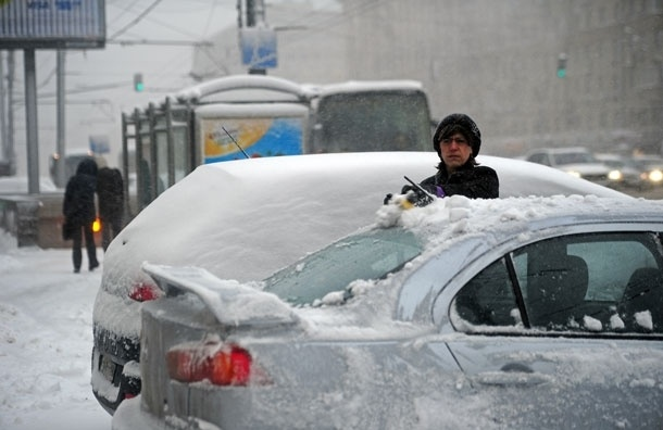 12 см - это много. Сегодня в Москве может выпасть более трети месячной нормы снега