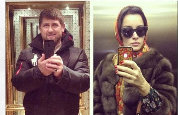 Рамзан Кадыров  - Тине Канделаки: «Посмотрите на лифт, в котором сфотографировался я!»