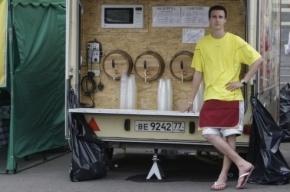 Пива нет. Медовухи и сидра тоже. Власти Москвы запретили слабоалкогольные  напитки в киосках и кафе