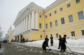 Последняя неделя марта в Петербурге будет теплой, но снежной