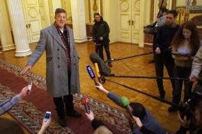 Милонову обидно, что Фрай назвал его «самым ужасным человеком в России»