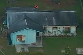 Во Флориде под землю провалился жилой дом вместе с хозяином