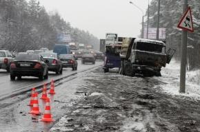 Под Петербургом два крупных ДТП: в аварии попали несколько десятков машин