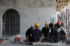 На строительстве стадиона «Зенита» нашли нелегальных мигрантов