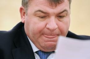 Сердюков объяснил, почему солдаты строили дорогу к даче его зятя
