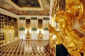 Большой дворец в Петергофе открылся после двухмесячной реставрации