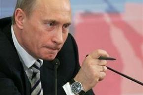 Лишь половина россиян доверяет Путину – результаты опроса