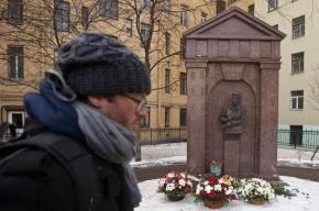 В Петербурге открыли памятник убитому вице-губернатору Михаилу Маневичу