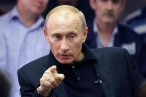Путин не станет вмешиваться в конфликт о «политической проституции»