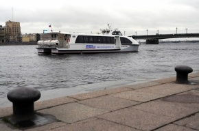 Аквабусы в Петербурге будут стоить 200 рублей