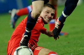 Игорь Денисов получил травму и не сыграет с Бразилией