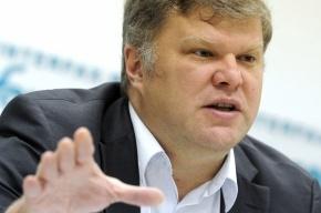 В лидера «Яблока» Сергея Митрохина прыснули зеленой жидкостью из шприца