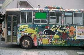 Граффитисты распишут городские автобусы и трамваи