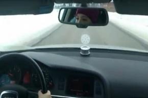 Отца восьмилетней гонщицы на Audi оштрафовали на 2,5 тысячи рублей