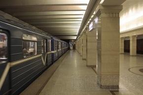В метро Петербурга поезда «плелись» со скоростью 30 км/ч