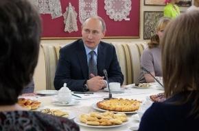 Путин порекомендовал россиянам поменьше есть