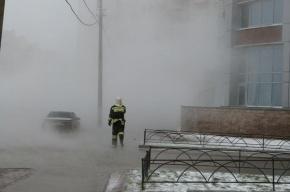 В зону прорыва трубы на Васильевском острове попали 246 домов