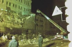 Петербургский шторм обрушил строительные леса