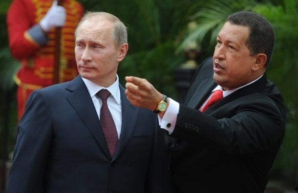 Чавес был сильный и неординарный человек, смотревший в будущее - Путин