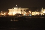 Буксир врезался в опрору Дворцового моста 19 апреля 2013: Фоторепортаж