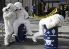 Гринпис акция белые медведи Statoil: Фоторепортаж