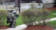 Фоторепортаж: «Бостон, поимка террористов»
