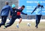 Фоторепортаж: «Тренировка перед матчем Зенит - Локомотив 13 апреля»