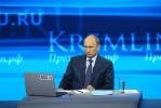 Прямая линия Владимир Путин 25 апреля 2013: Фоторепортаж
