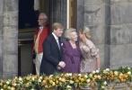 Фоторепортаж: «Церемония: Королева Нидерландов Беатрикс отрекается от престола в пользу сына»