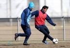 Зенит - Крылья Советов 7 апреля 2013 года: тренировка перед матчем : Фоторепортаж