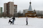 Пикет в парке Калининского района: Фоторепортаж
