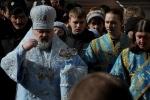 Крестный ход и молебен перед Благовещенской церковью Александро-Невской Лавры: Фоторепортаж