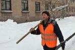 Фоторепортаж: «Дворники Петербурга»