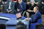 Путин Прямая линия 25 апреля 2013 (2): Фоторепортаж